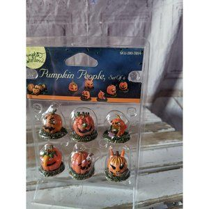 Lemax Pumpkin People Spooky Town Halloween Collect